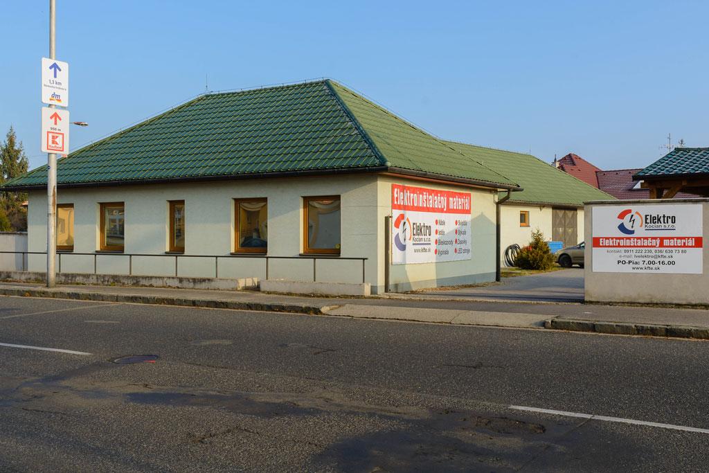 Budova KFTE - Levice, LV
